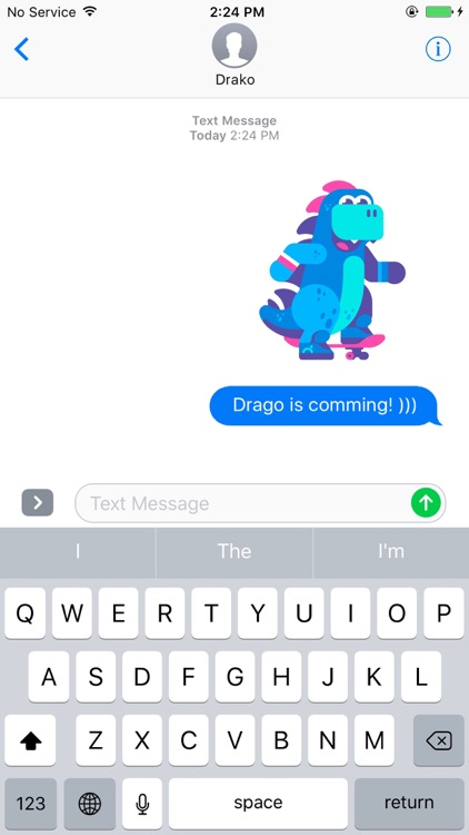 Drako Stickers screenshot-0
