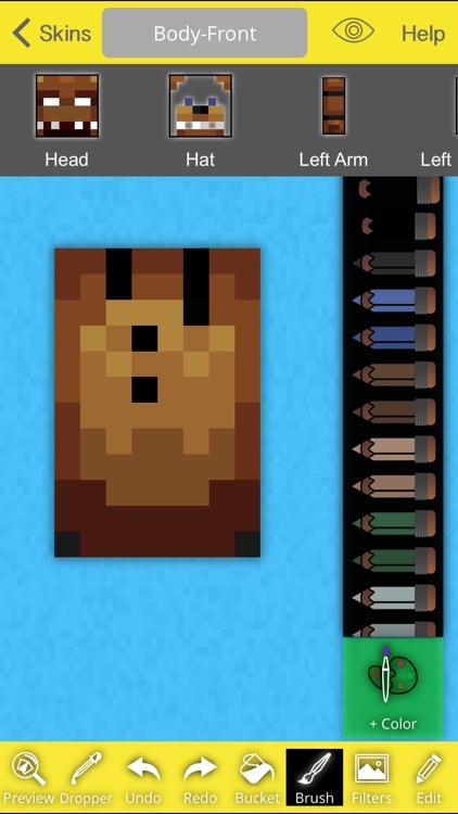 Pro FNAF Skins Creator For Minecraft PE+PC screenshot-3