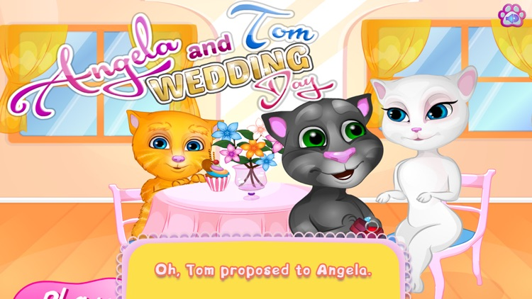 Kids Games:Tom And Angela Wedding Day app image