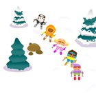 Ski Race Jeu gratuit - Easy Kids Snow Racing icon