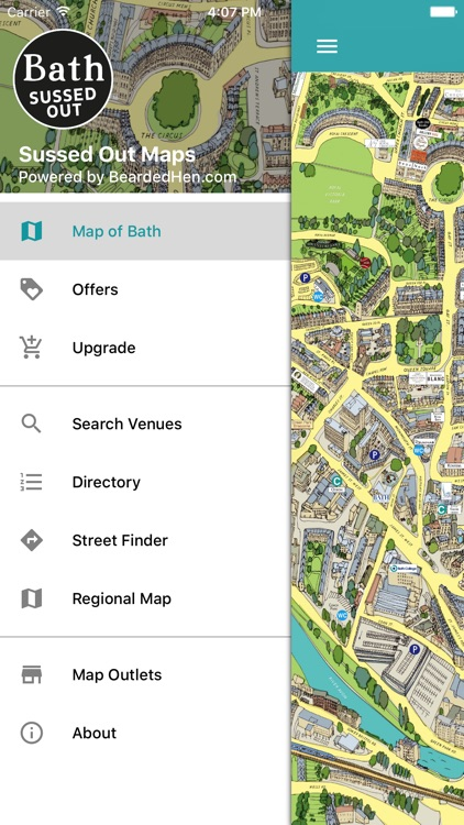 Bath Sussed Out Tourist Map screenshot-4