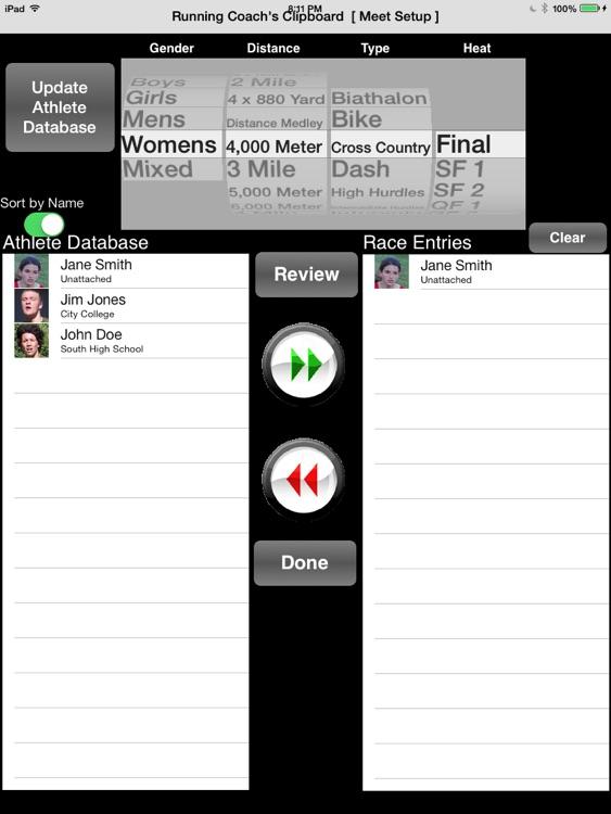 Running Coach's Clipboard screenshot-3