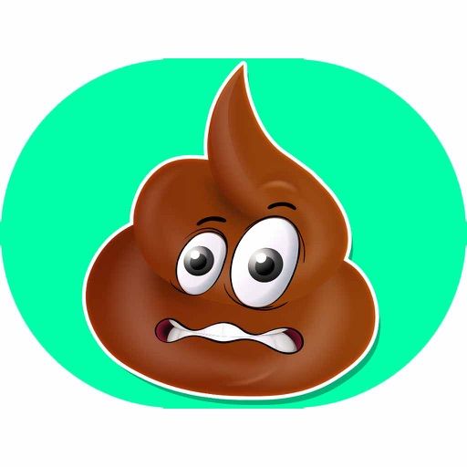 Cute Poop Expressions Emoticons Emojis Stickers