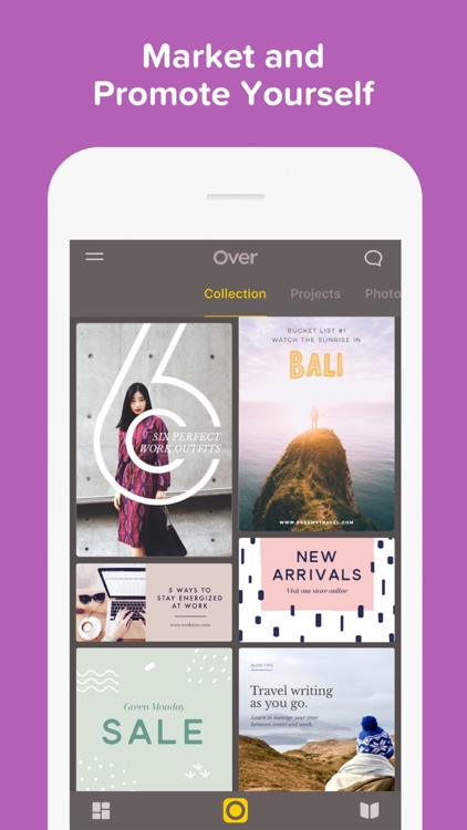 Over— Edit Photos, Add Text & Captions to Pictures app image