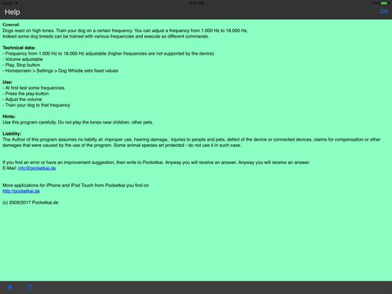 Dog Whistle (1-18 kHz) screenshot 5