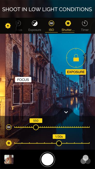 Warmlight - Manual Camera Screenshot