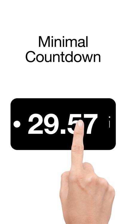 Liten Countdown - Minimal Countdown Timer screenshot-0