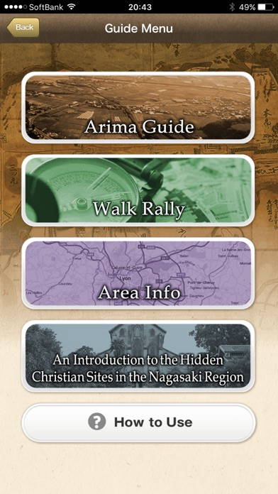 Arima History Guide screenshot two