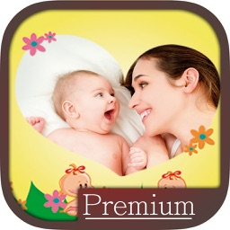Baby photo frames editor - Pro