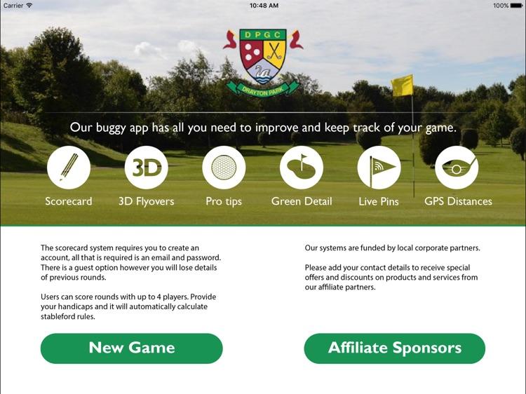 Drayton Park Golf Club - Abingdon - Buggy