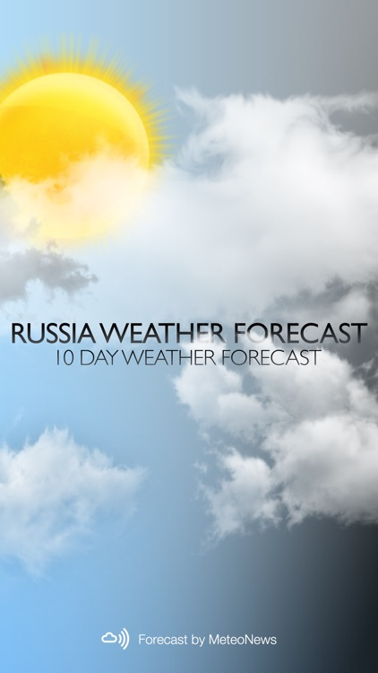 Weather for Russia screenshot-0