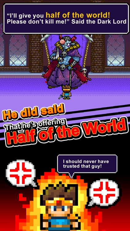 Devil Lord: I shouldn't say that...half of world