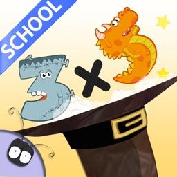 Mathemagics Multiplication-School Edition