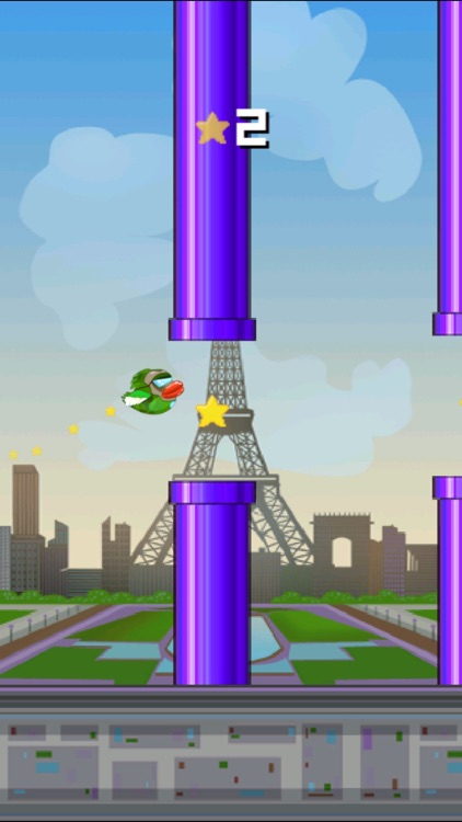 The Impossible Flappy Game - Original Spinki Bird screenshot-4