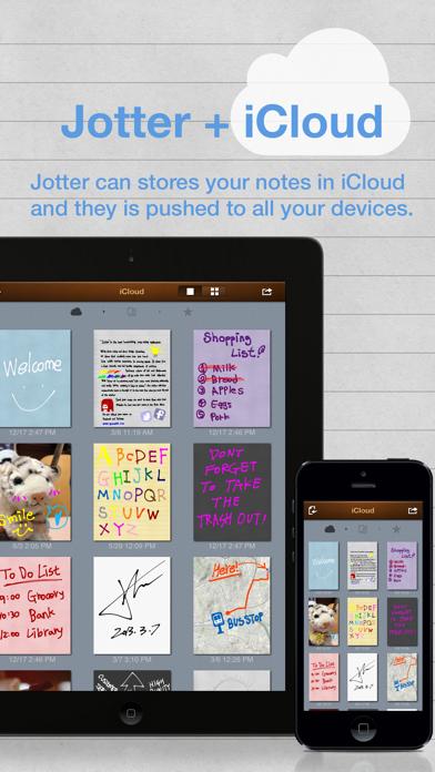 Jotter (Handwriting Notepad) screenshot one