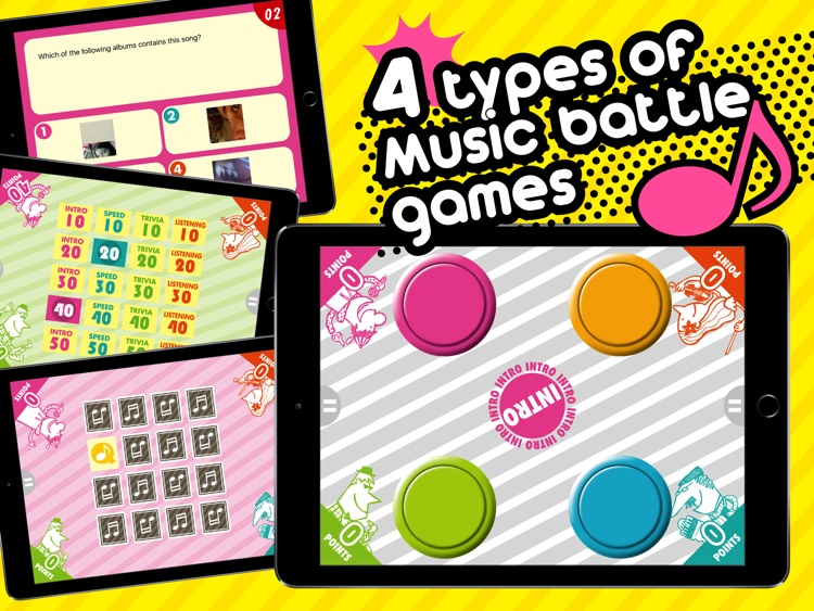 Music Quiz Party for iPad