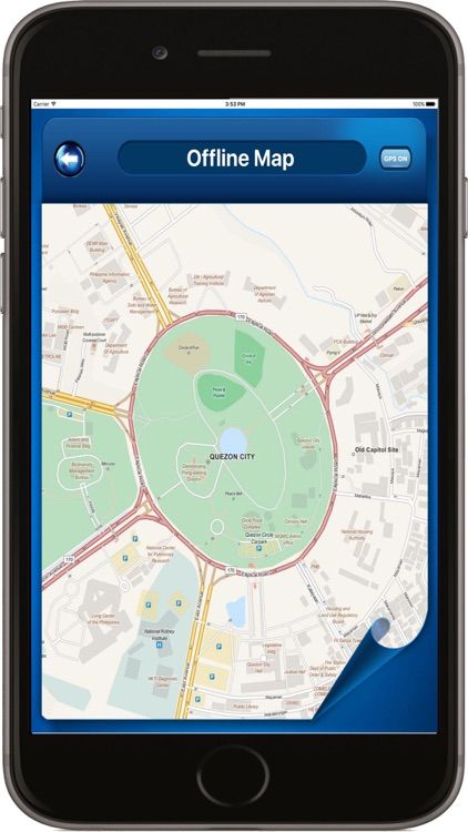 Manila Philippines - Offline Maps Navigator screenshot-4