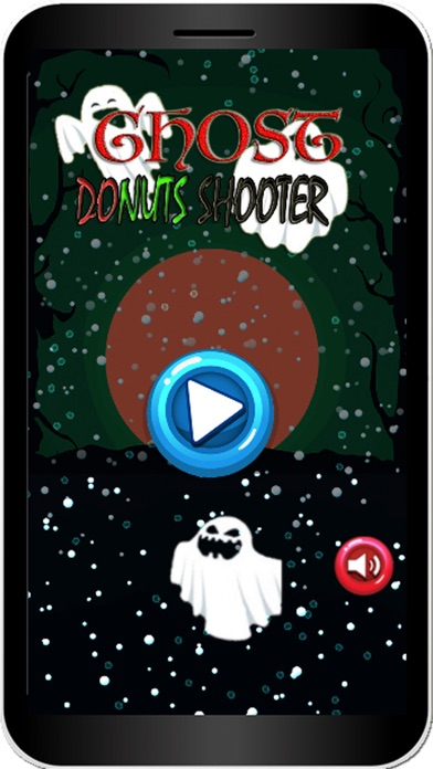 Ghost Donut Shooter - Puzzle Bubble Deluxe Screenshot