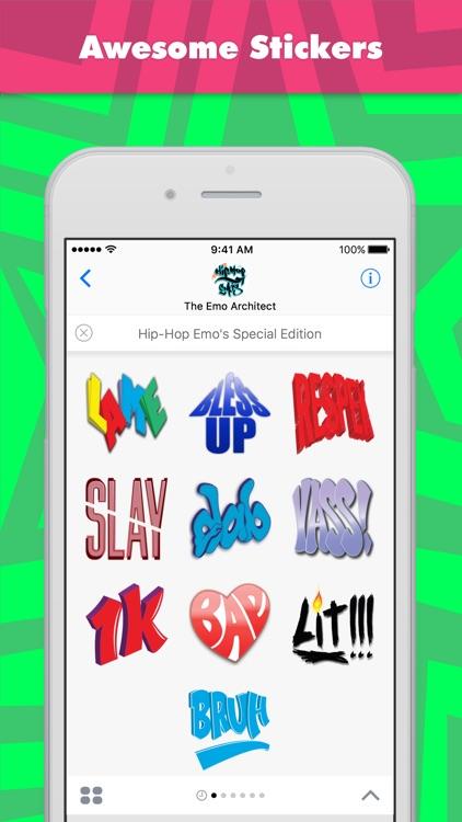 Hip-Hop Emo's Special Edition stickers