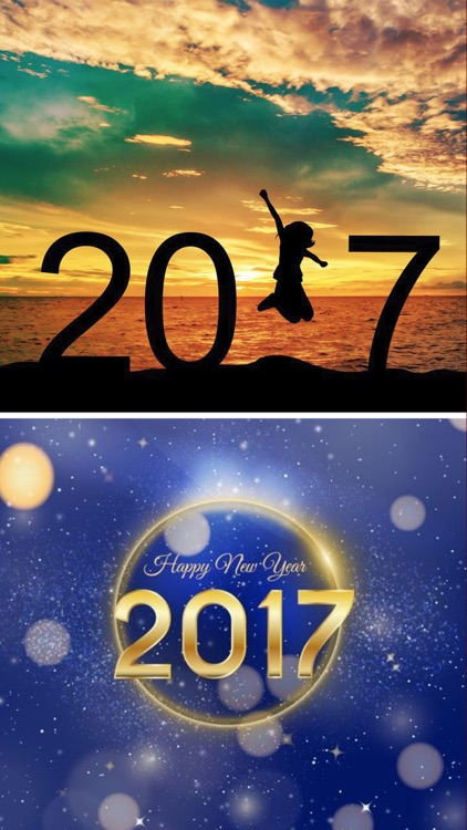 Happy New Year 2017 Wallpapers & Countdown Clock