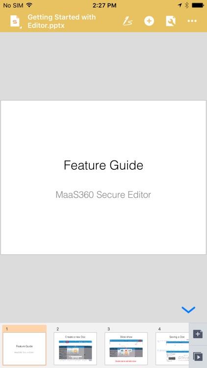 MaaS360 Secure Editor screenshot-4
