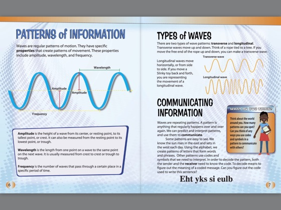 ‎Waves and Information Transfer