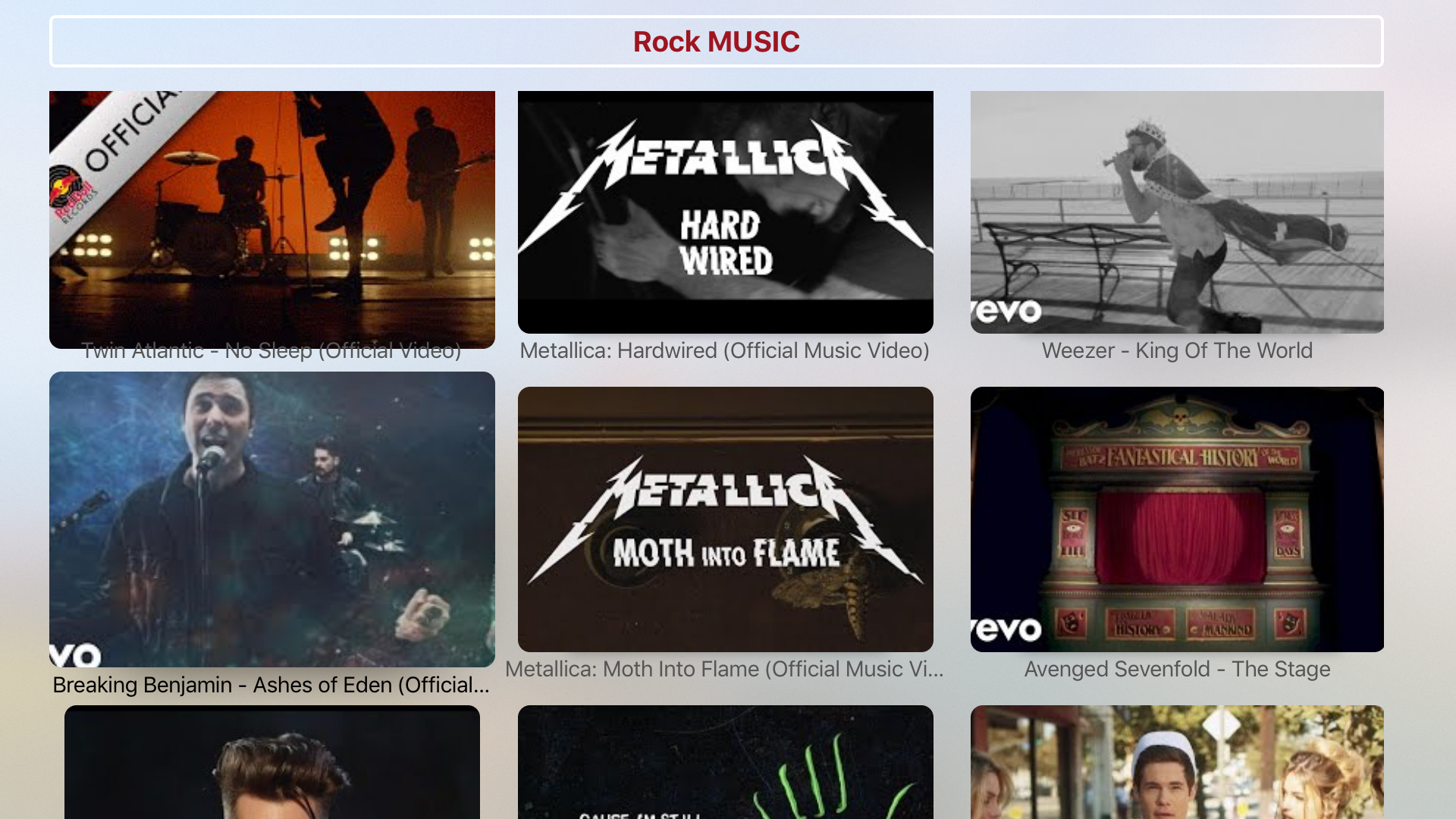 Rock Music - All Genres & Categories screenshot 1