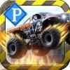 怪物大脚车3D - 一款令人兴奋的怪物卡车3D停车游戏