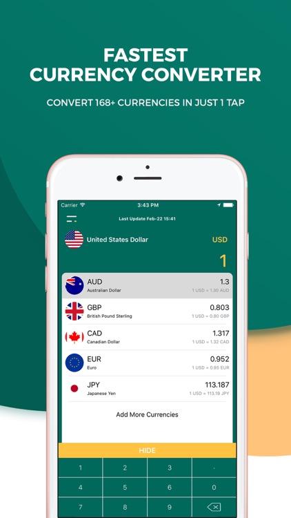 Currency Converter Handy - Live world money calc