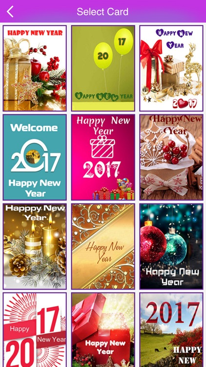 Happy New Year Greeting Cards 2017