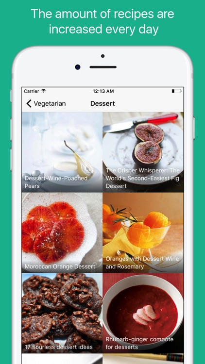 Vegetarian Food Recipes screenshot-3