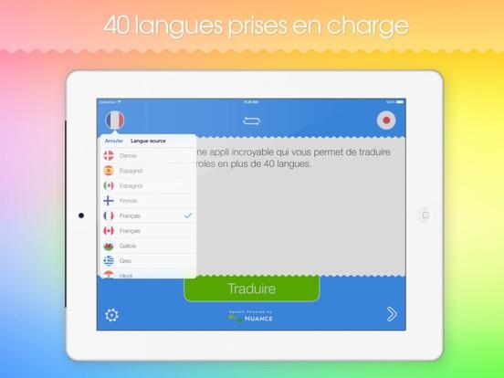 Screenshot #6 pour Traducteur Futé HD!