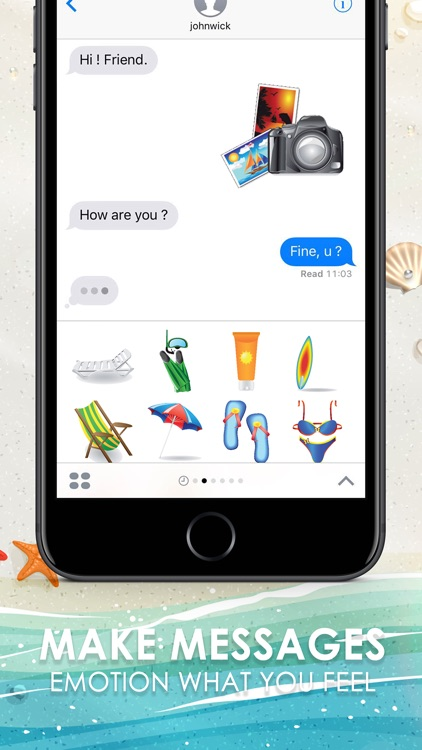 At The Holiday Stickers for iMessage Free