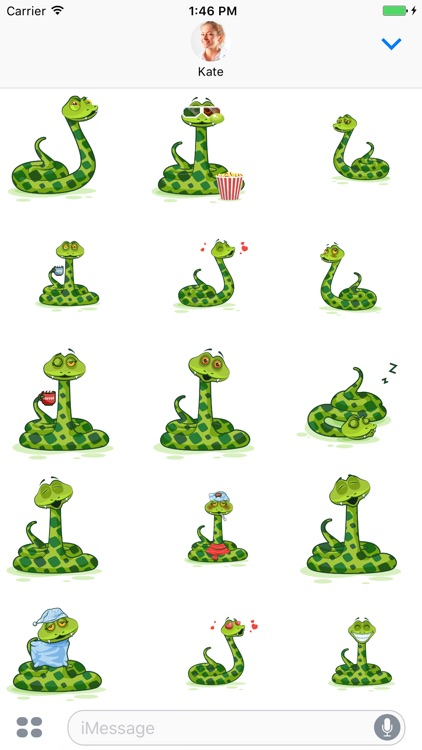 Snake - Stickers for iMessage