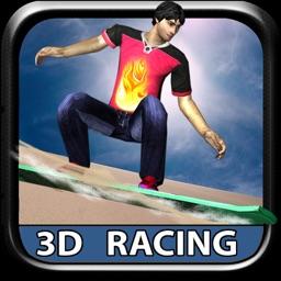 SandBoard Racing 3D - SandBoard Stunt Racing games