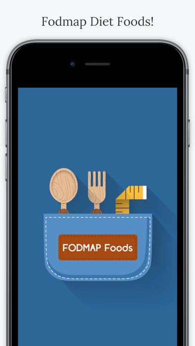 FODMAP Diet Foods. screenshot one