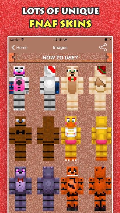 BEST FNAF SKINS FREE For Minecraft Pocket Edition