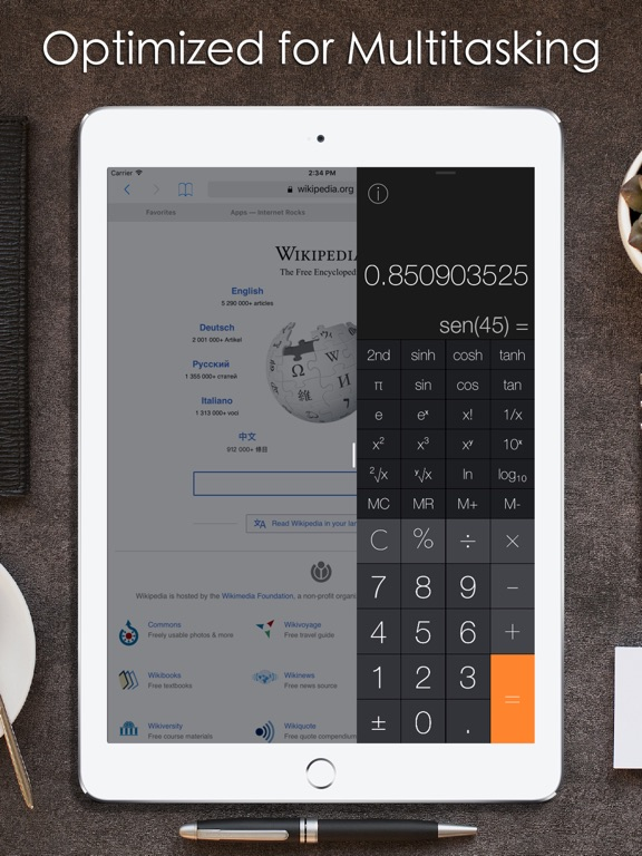 Screenshot #3 for Calculator iRocks