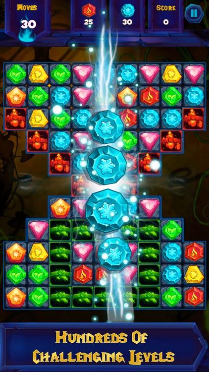 Jewel Mystery - Free match 3 puzzle games screenshot-3