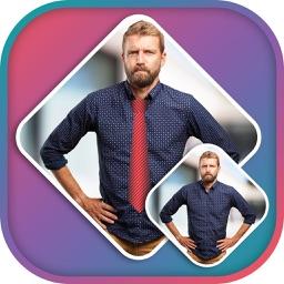 Man Tie Changer Photo Editor - Tie Changer Sticker