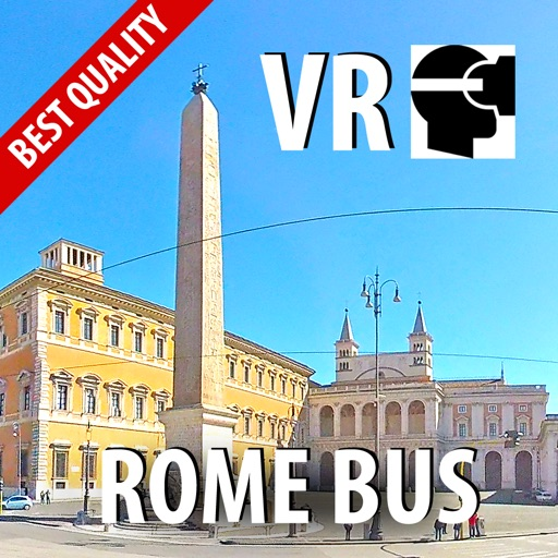 VR ROME Bus Trip 2 Virtual Reality 360