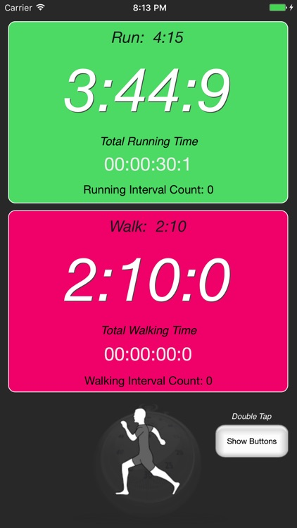 Runner's Interval Timer screenshot-3