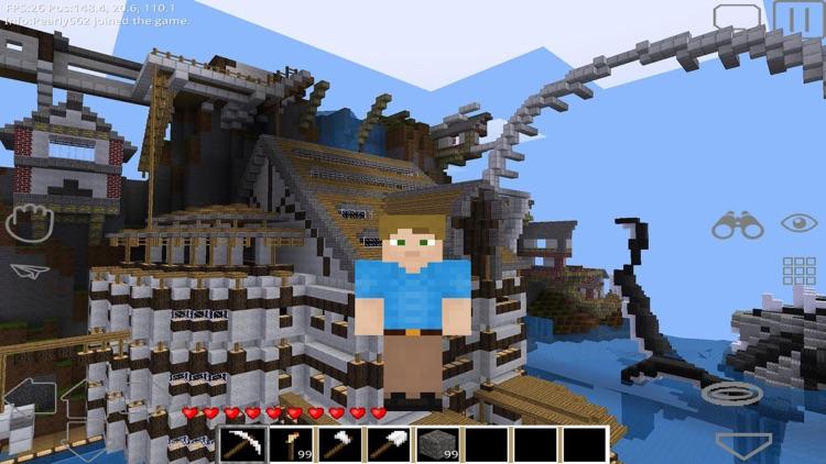FreeCraft Survival Pocket Edition screenshot-4