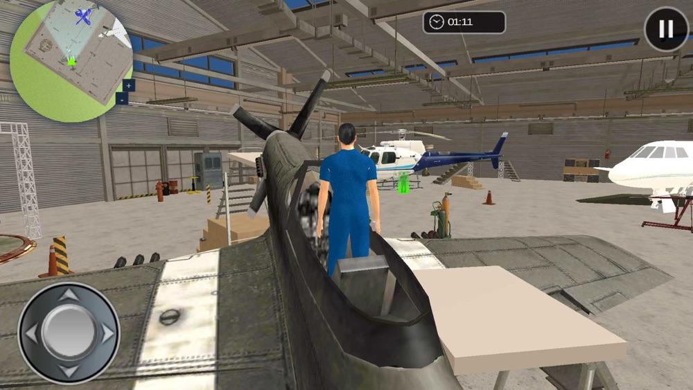 Plane Mechanic Simulator 3D Repair Garage Workshop hack tool