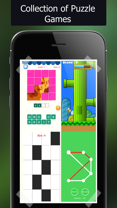 Puzzle Puzzles Mania:A collection of free games