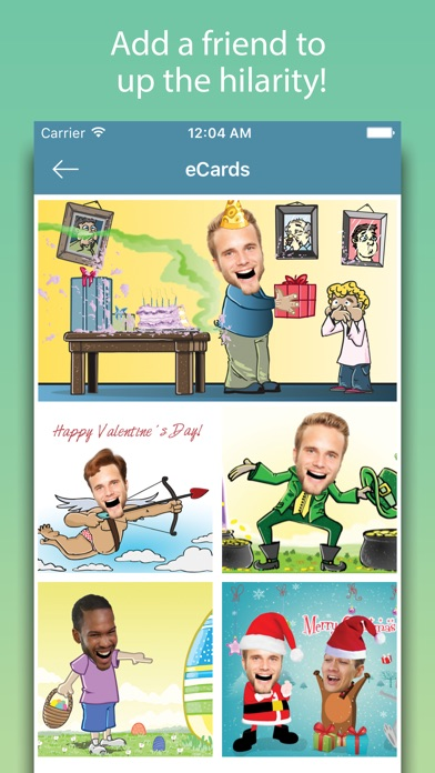 Birthday Cards - Happy Birthday Greetings & Frames screenshot three