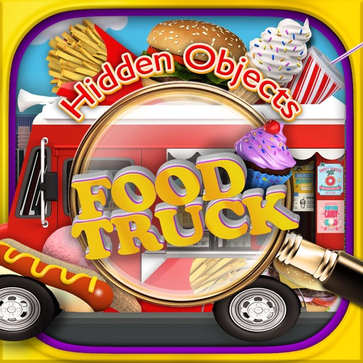 Food Trucks Objects - Hidden Object Time Quest