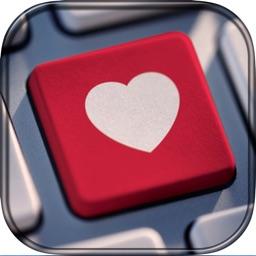 Valentine's Day Keyboards–Love Keyboard Background
