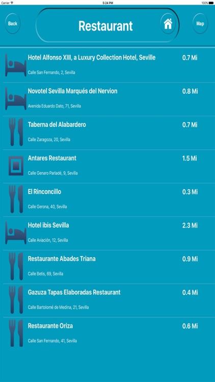 Seville Spain Offline City Maps Navigation screenshot-3