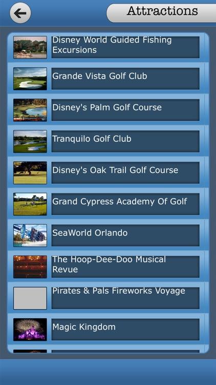 Great App To Walt Disney World screenshot-3